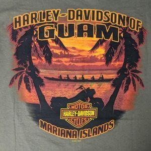 Harley Davidson Guam Tee - Size XXL - NWT